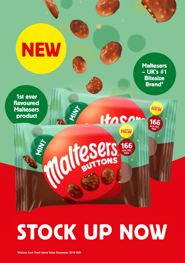 May 20 Maltesers Mint Buttons